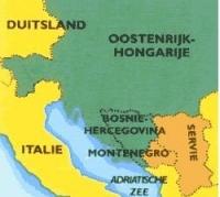 kaartje 1e wereldoorlog
