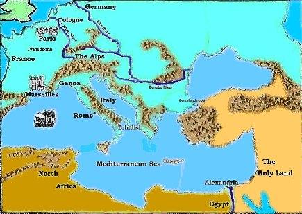 Middellandse zee gebied