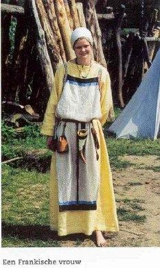 frankische vrouw